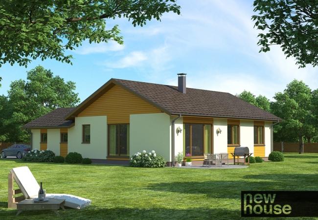 Māju projektu katalogs - Vienas ģimenes mājas - LAILA