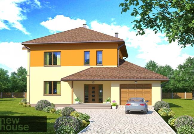 Māju projektu katalogs - Vienas ģimenes mājas - ILVA