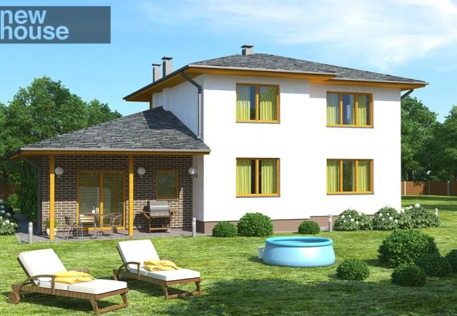 Māju projektu katalogs - Vienas ģimenes mājas - HELGA
