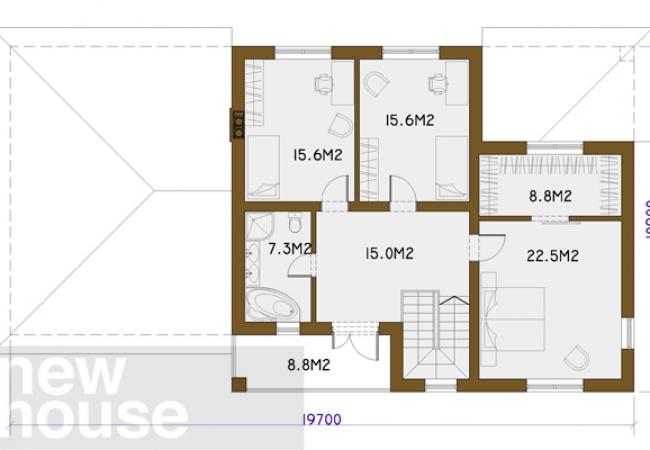 Māju projektu katalogs - Vienas ģimenes mājas - LĪVA 2