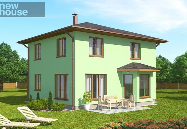 Māju projektu katalogs - Vienas ģimenes mājas - SANITA