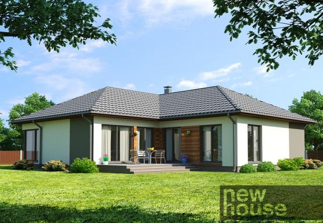 Māju projektu katalogs - Vienas ģimenes mājas - Māja LM2