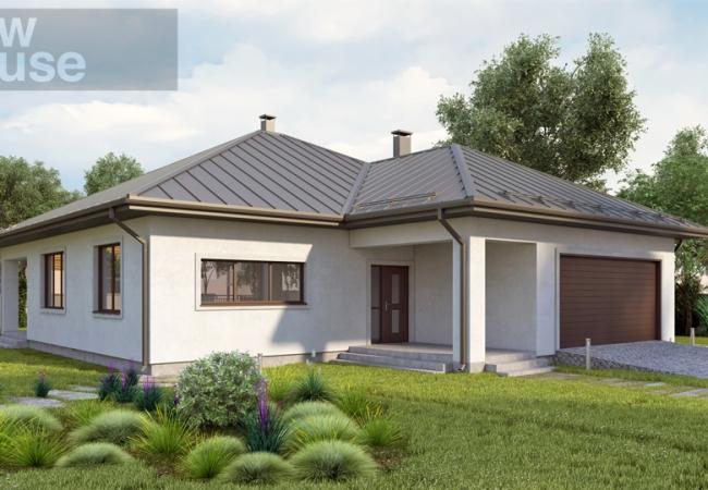 Māju projektu katalogs - Vienas ģimenes mājas - Māja LM5