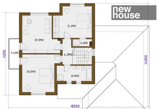 Māju projektu katalogs - Vienas ģimenes mājas - INESE