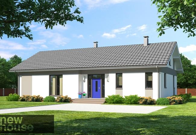 Māju projektu katalogs - Vienas ģimenes mājas - Māja LM3
