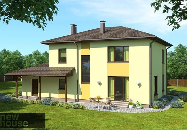 Māju projektu katalogs - Vienas ģimenes mājas - IVETA