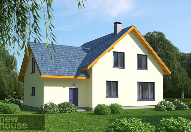 Māju projektu katalogs - Vienas ģimenes mājas - AIJA