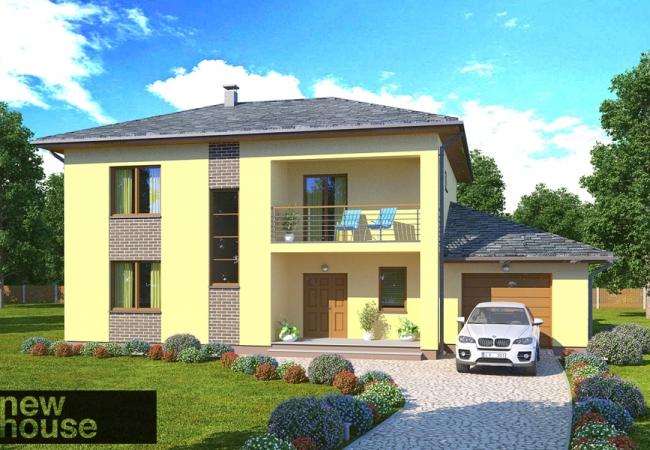 Māju projektu katalogs - Vienas ģimenes mājas - LĪVA