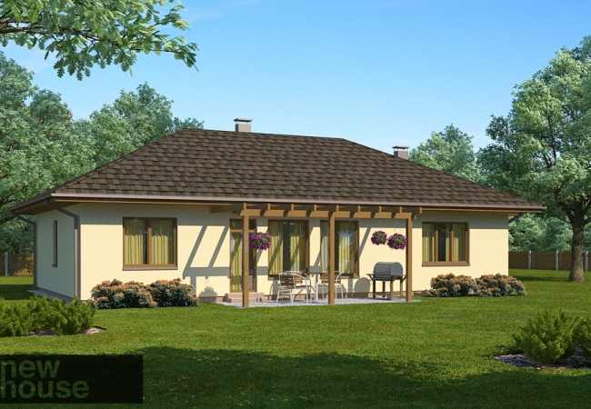 Māju projektu katalogs - Vienas ģimenes mājas - MONTA