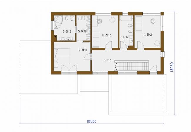 Māju projektu katalogs - Vienas ģimenes mājas - ALFA