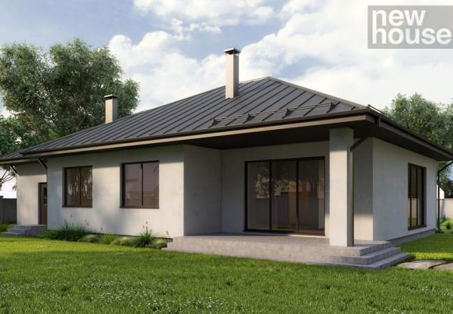 Māju projektu katalogs - Vienas ģimenes mājas - Māja LM4