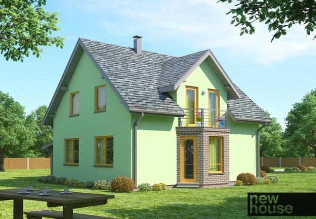 Māju projektu katalogs - Vienas ģimenes mājas - LINDA