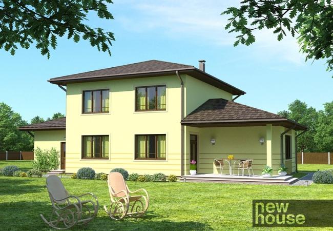 Каталог проектов домов - Дома для одной семьи - DAGMĀRA