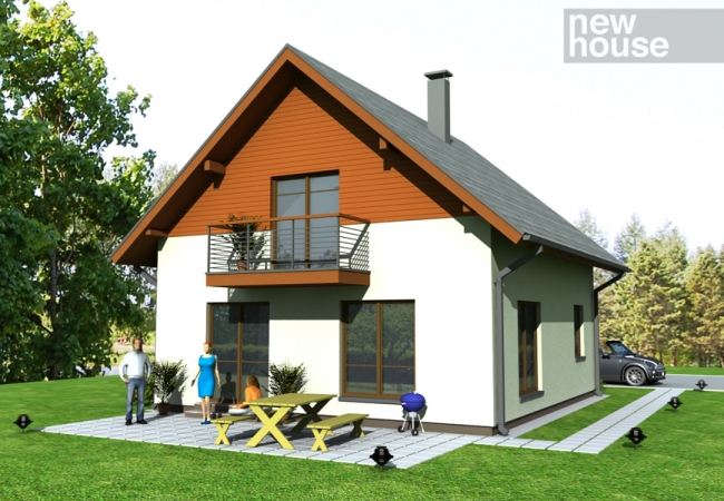 Māju projektu katalogs - Vienas ģimenes mājas - ANETE
