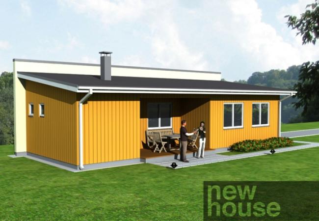 Каталог проектов домов - Гараж с баней - GUNA 1