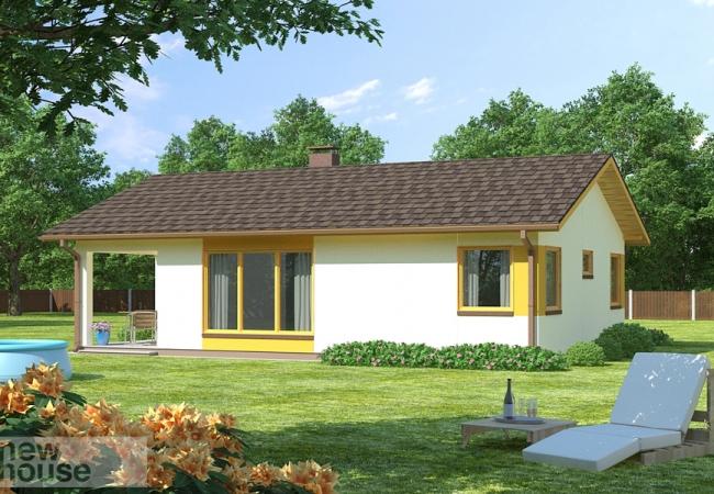 Māju projektu katalogs - Vienas ģimenes mājas - RASA