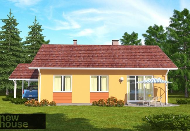 Māju projektu katalogs - Vienas ģimenes mājas - VIOLA