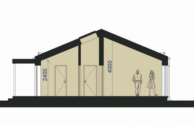 Māju projektu katalogs - Vienas ģimenes mājas - Māja LM12