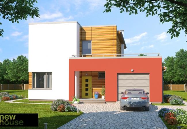 Māju projektu katalogs - Vienas ģimenes mājas - DAIRA