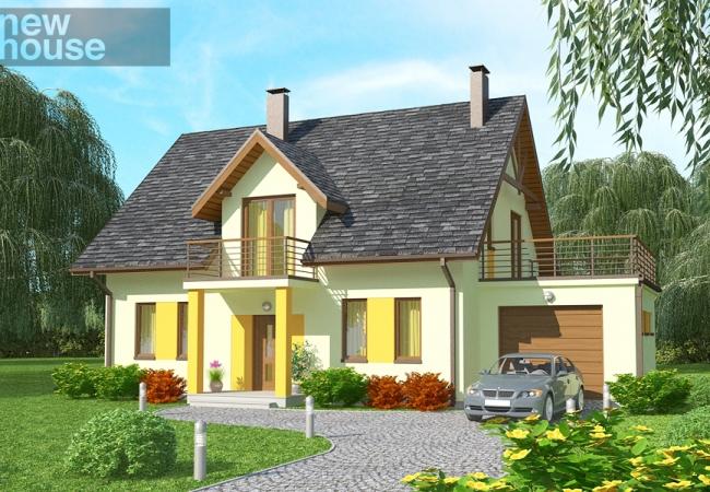 Māju projektu katalogs - Vienas ģimenes mājas - VERONIKA